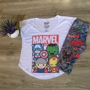 Marvel Other - Marvel avengers leggings Halloween set small